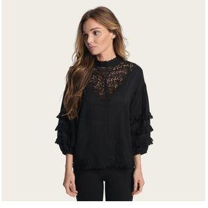 Frye Black blouse